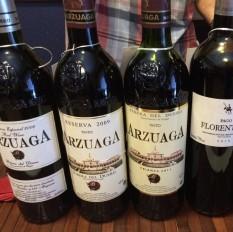Degustação Arzuaga